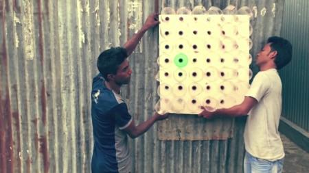 Eco Cooler es un enfriador de aire para las comunidades vulnerables que no requiere electricidad