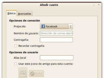 Facebook Chat, plugin para Pidgin