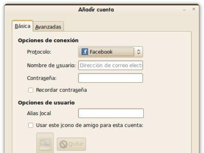 Facebook Chat, plugin para Pidgin