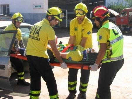 Simulacro equipo emergencias