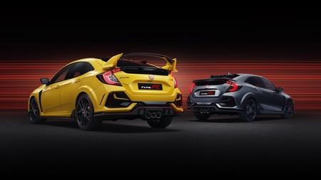 El Honda Civic Type R estrena dos nuevas personalidades: una sin alerón y otra aún más radical de sólo 100 unidades