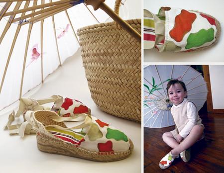 """""""Osito's Passion"""" es un eco - proyecto de alpargatas fabricadas y decoradas a mano"""
