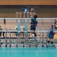 El último fichaje de la selección japonesa de voleibol es un robot