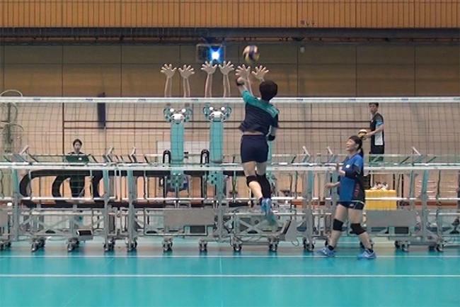Robot gamer voleibol