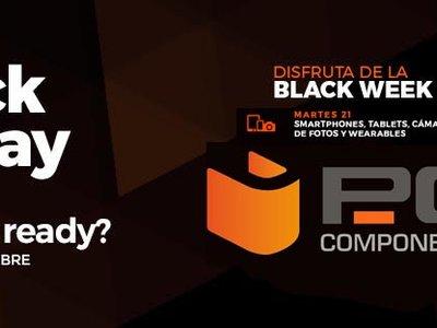 Black Friday PcComponentes 2017: las mejores ofertas en smartphones, tablets y wearables hoy, 21 de noviembre