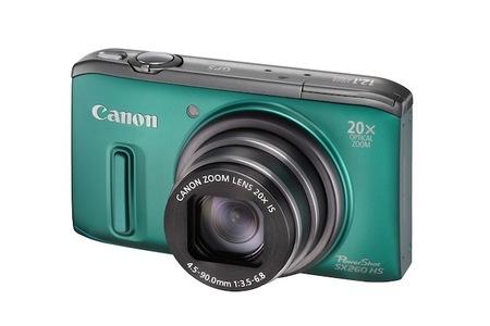Canon PowerShot XS260 HS green