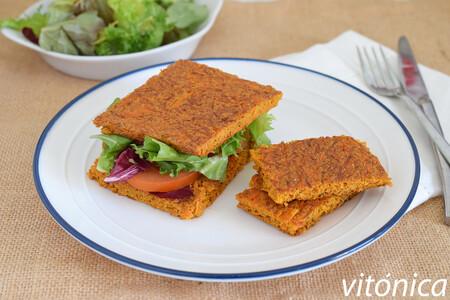 Pan De Sandwich Fitness De Zanahoria