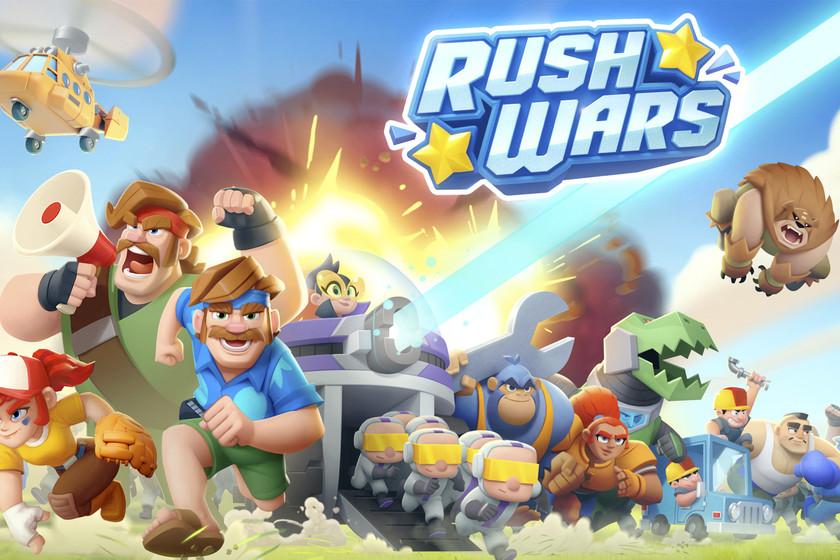 Rush Wars es una gran idea minada por inexplicables errores que ya superaron juegos como Clash Royale o Brawl Stars