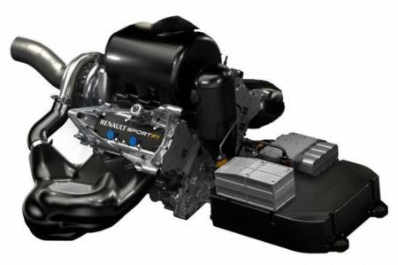 Motor Renault F1 Con Ers