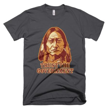 American Apparel2001 Sitting Bull Trust Government Asphalt