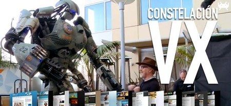 Robots gigantes, cámaras sin espejo y juegos Android. Constelación VX (CL)
