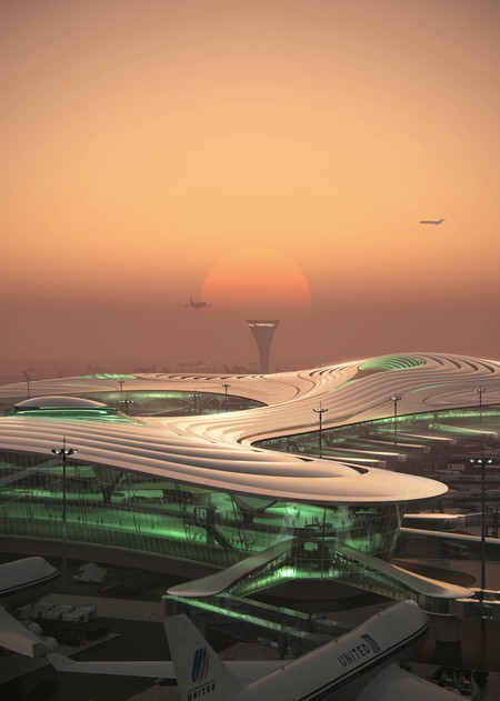 05 Mad Harbin Airport T3