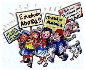 Un político propone que los niños trabajen en las escuelas