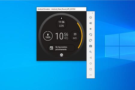 Cómo probar Wear OS en un emulador en Windows