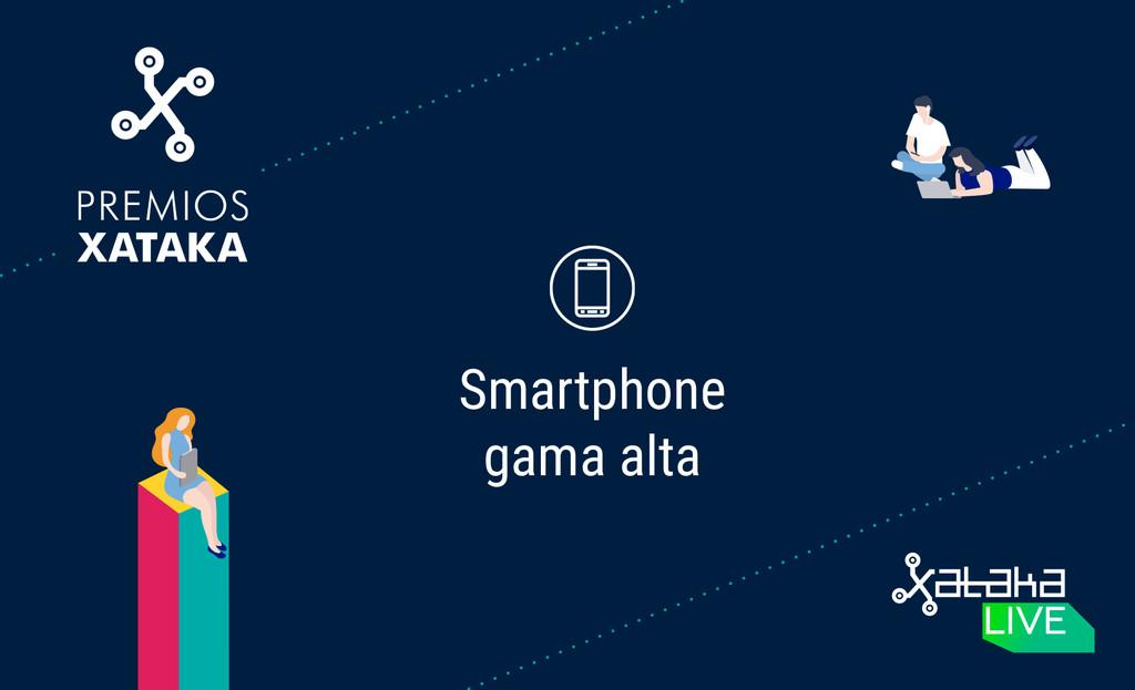 Mejor movil de gama alta: vota en los Premios Xataka 2018