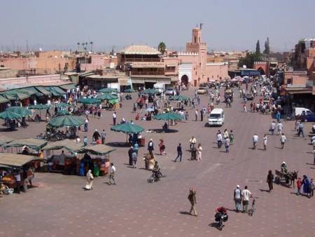 Moroccomarrakech Djemaaelfna