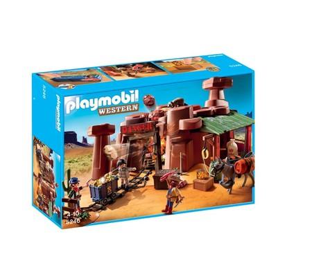 Mina del Oeste de Playmobil por 31,95 euros y envío gratis