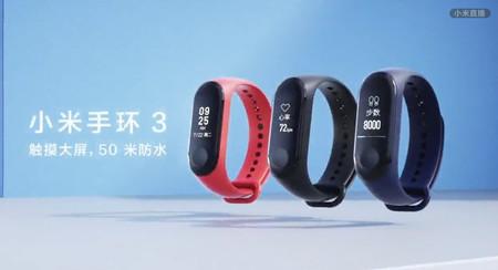 Xiaomi Mi Band 3 Clases