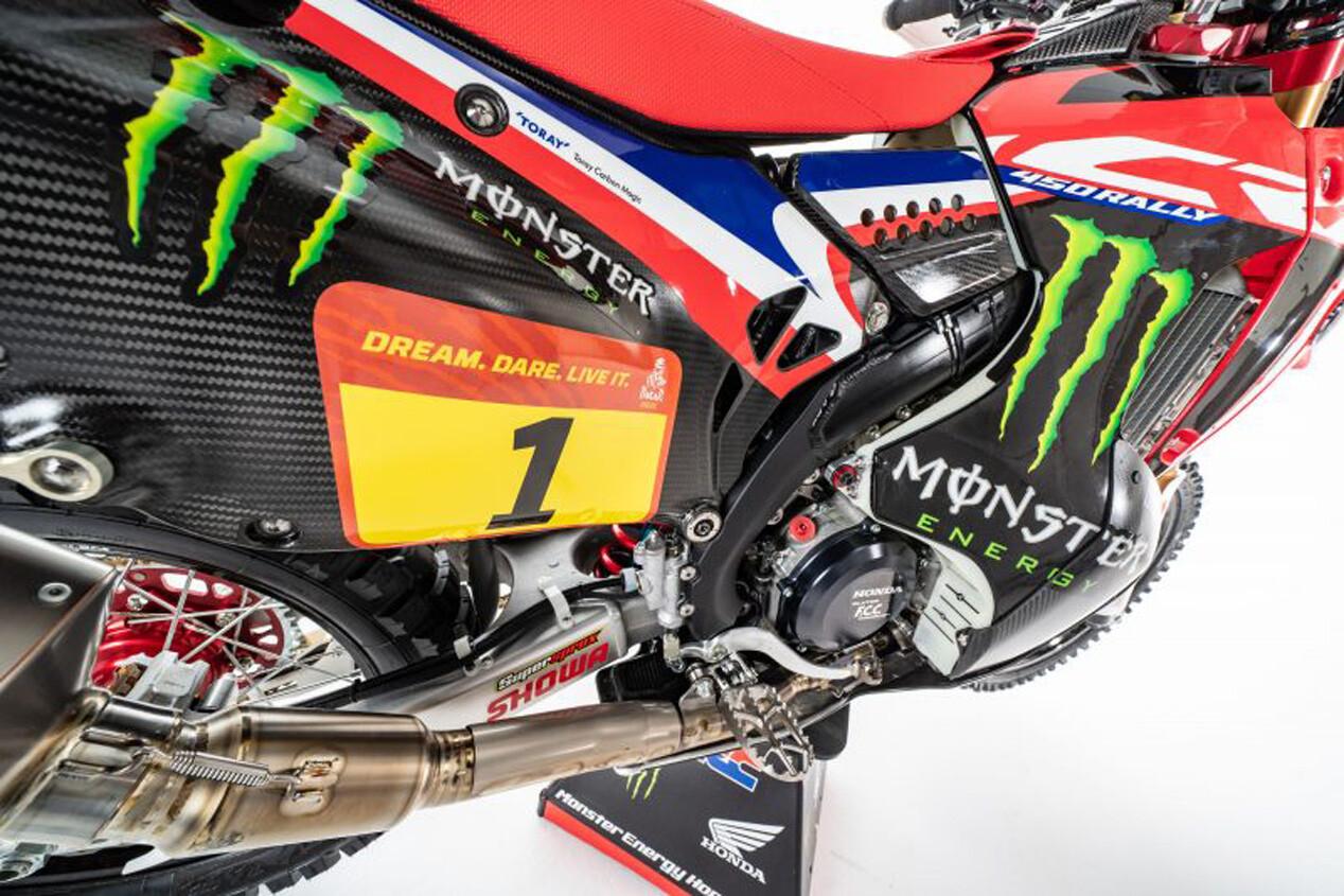 Foto de Honda CRF450 Rally Dakar 2021 (6/16)