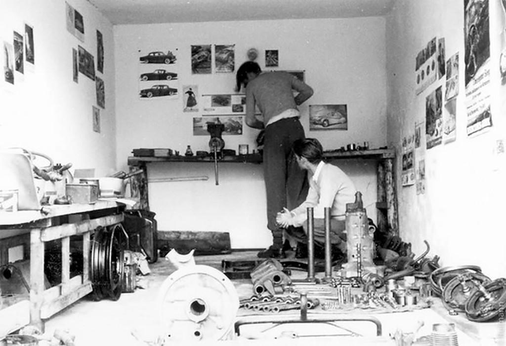 Garaje Knut y Flak Reimann Porscheli Lindner