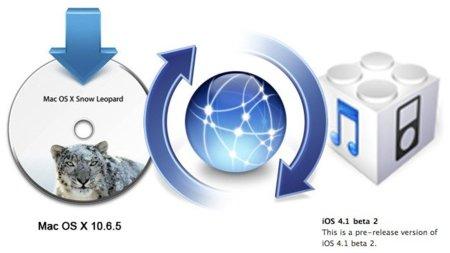 Apple sigue trabajando en las actualizaciones de iOS 4 y Mac OS X 10.6.5