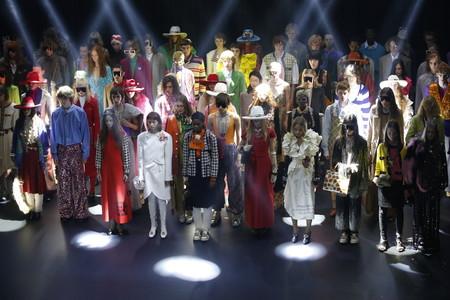Gucci Primavera-Verano 2019: un estilo setentero de lujo y de color