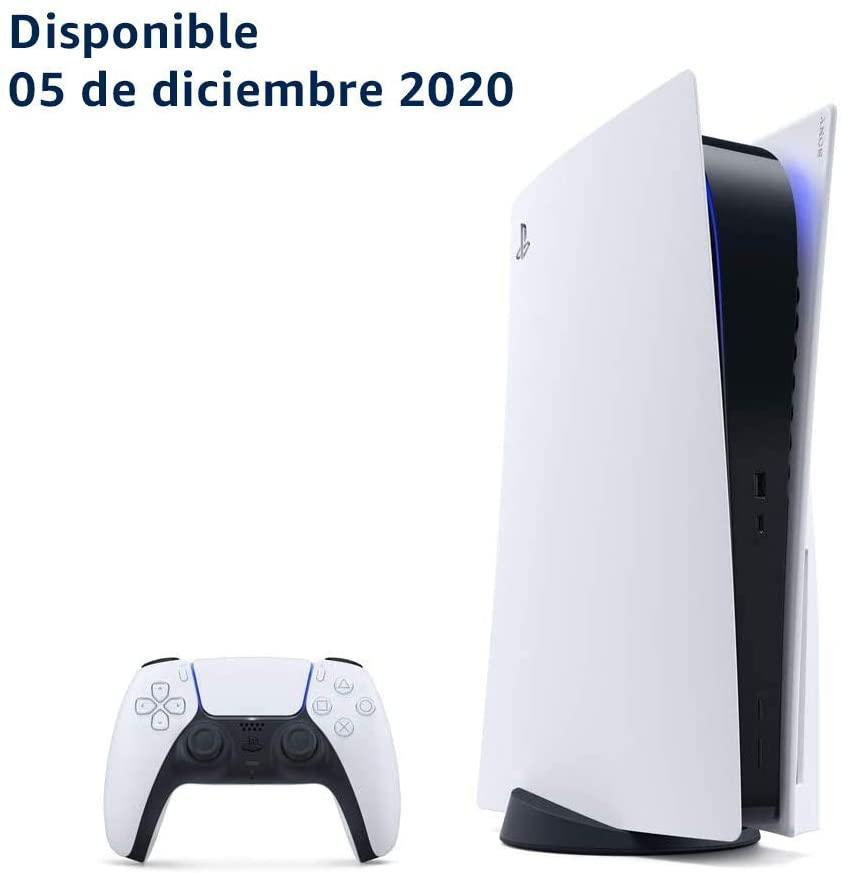 Consola PlayStation 5 - PlayStation 5 - Standard Edition (entrega desde el 05 de diciembre de 2020)
