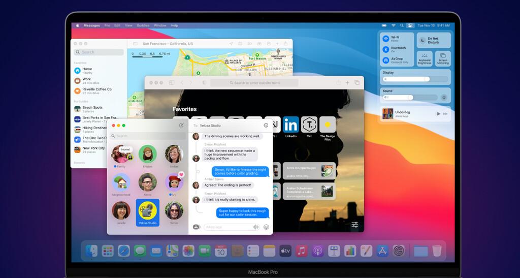 macOS 11.0 Big Sur llega hoy: estás son todas sus novedades y así puedes actualizar