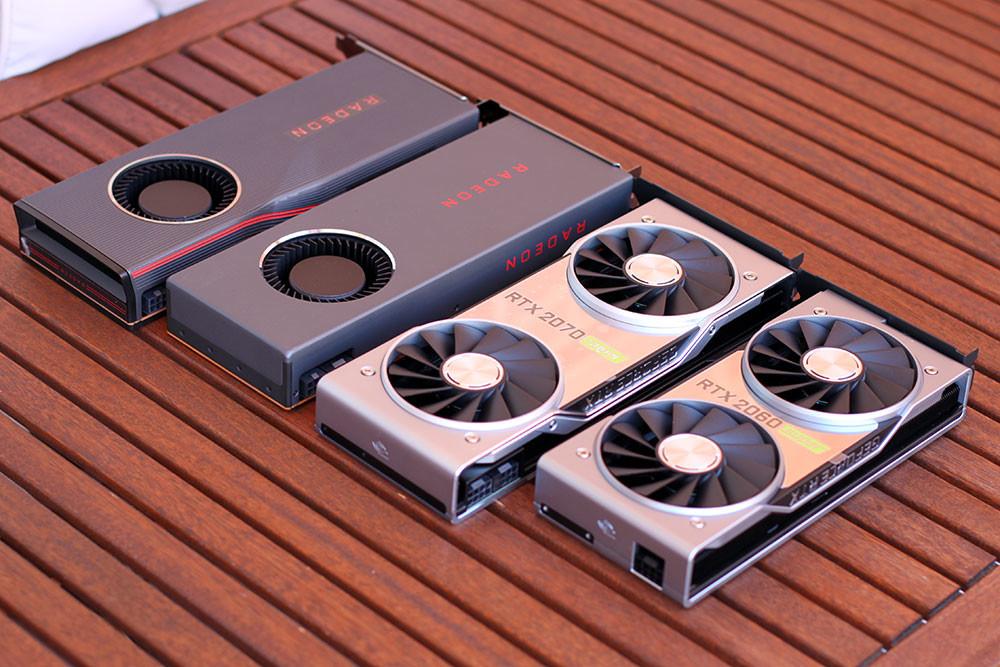 NVIDIA GeForce RTX 2060/2070 SUPER vs AMD Radeon RX 5700/XT: la guerra de las tarjetas gráficas ha resucitado