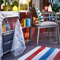 Llega el verano: Dale un giro radical a tu terraza gracias a la colección de exterior de IKEA