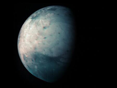 Juno mapea la gigantesca luna de Júpiter Ganímedes, justo cuando la misión cumple diez años