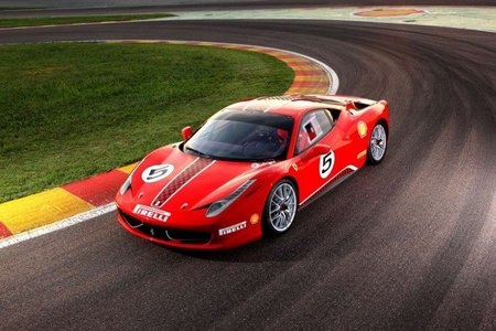 ferrari 458 challenge el primer 458 italia de carreras. Black Bedroom Furniture Sets. Home Design Ideas