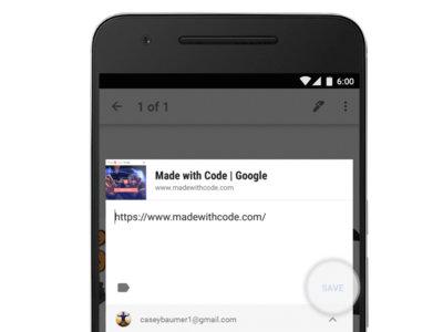 Google Keep para Android: ahora con guardado de enlaces, #etiquetas y reorganización de menús