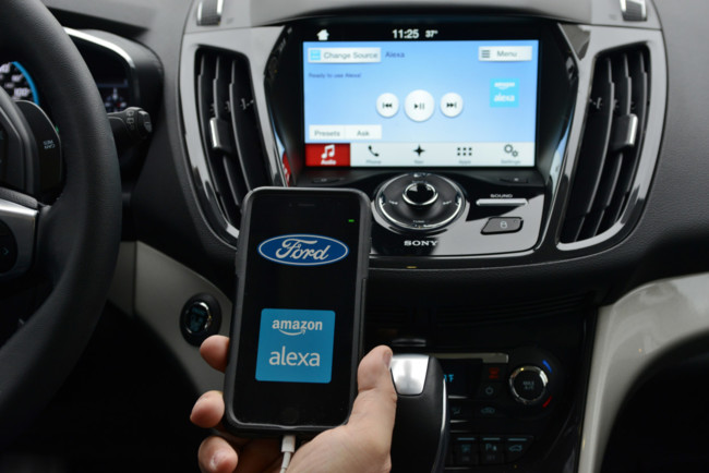 amazon Alexa Ford