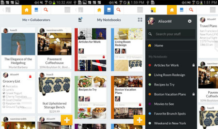 Springpad 4.0 para Android