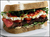¿Pagarías 150 dólares por un sandwich?