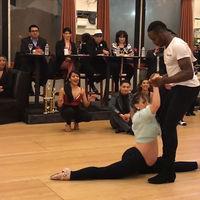 El increíble vídeo de una embarazada de siete meses bailando salsa