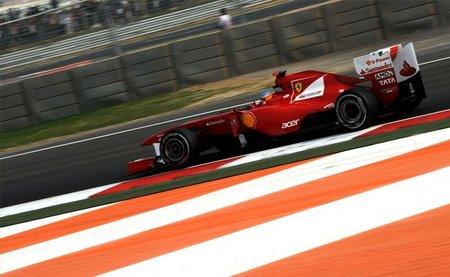 GP de India F1 2011: Fernando Alonso consigue una muy interesante tercera posición