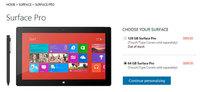 Se agotan todas las versiones de Surface Pro en su primer día