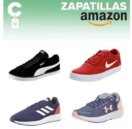 11 chollos en tallas sueltas de  zapatillas Adidas, Nike, Under Armour o Puma por menos de 40 euros en Amazon