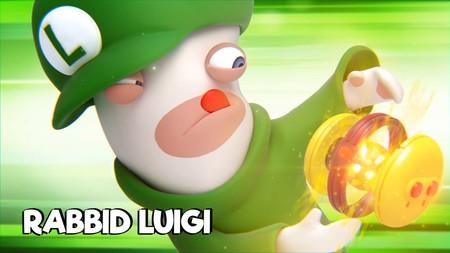 Rabbid Luigi demuestra de lo que es capaz en el nuevo vídeo de Mario + Rabbids: Kingdom Battle