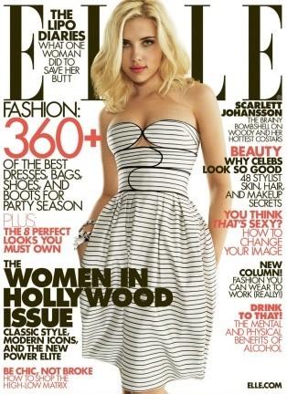 Scarlett Johansson más guapa todavía en Elle