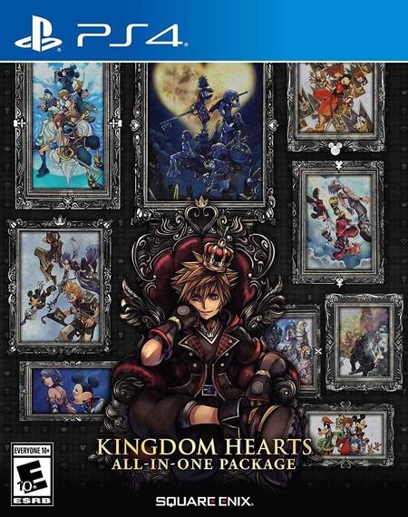 Kingdome Hearts All-in-One Package para PS4 de oferta en Amazon México