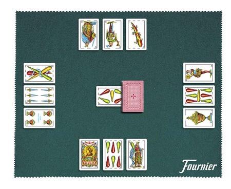 Imagen de una partida de Brisca.