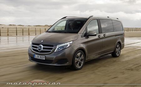 Mercedes-Benz Clase V, toma de contacto