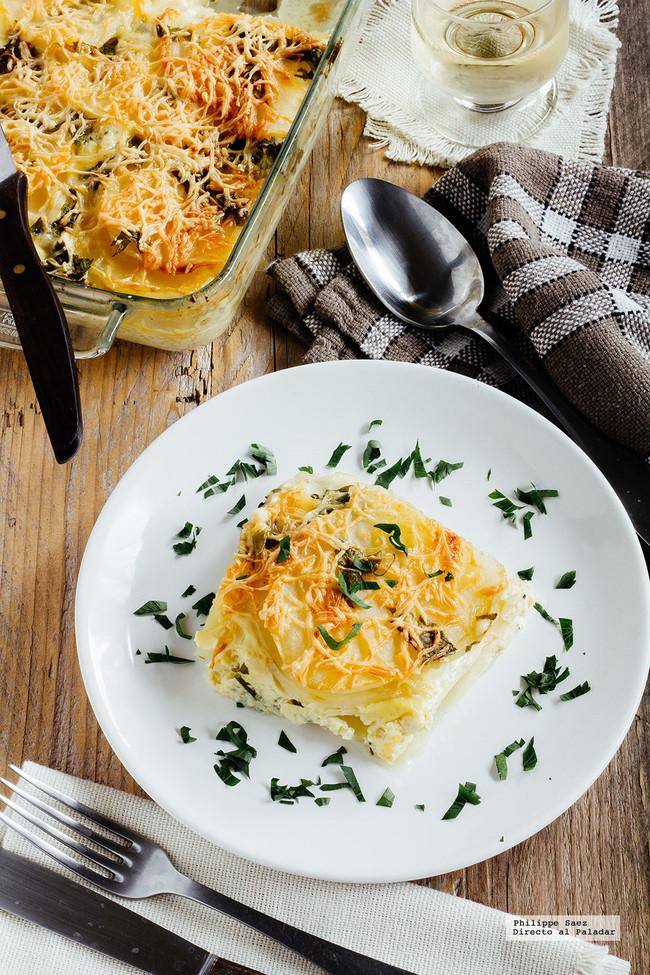 grat�n de patata y queso Raclette