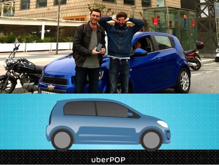 Uber ya transporta pasajeros en Barcelona