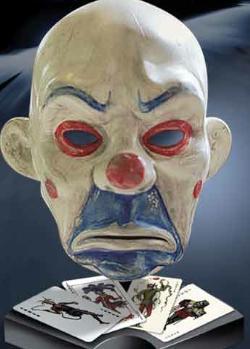 Réplica de la máscara de El Joker