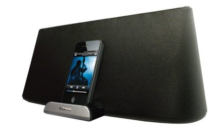 Base Sony Serie X con Airplay y Bluetooth