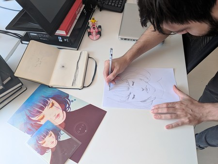 Conrad Dibujando
